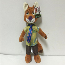 Latest Listing Zootopia Lovely fox Nick Plush toy doll 30cm high quality animal Soft Cartoon toy for Baby toys to appease(China)