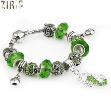 ZIRIS 2017 Celebrities high-grade hand string beads jewelry diy macroporous beaded bracelet women charm Tibetan silver bracelet