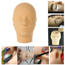 New Hot Closed Eyes Mannequin Head Massage Makeup Eyelash Extension Practice Model Hats Hairs Glasses Display for Wigs Showcase(China)