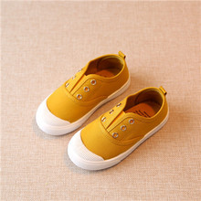 Children Shoes canvas sneakers 2017 spring kids fashion girls shoes toddler boy canvas shoes Size 21-35 cheap kids trainers