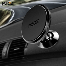 PZOZ Universal Car Phone Holder 360 Degree Magnetic Mobile Phone Holder For iPhone Samsung Magnet Mount Holder pop Stand socket