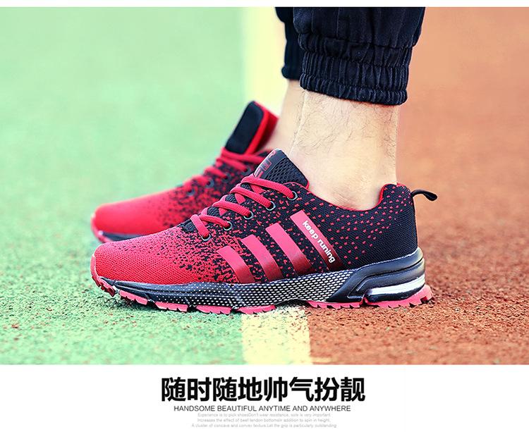 JYRhenium Sneakers Shoes Men Running Shoes 17 Lovers Outdoor Men Sneakers Sports Breathable Trainers Jogging Walking Shoes 33