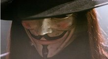 Free Shipping 200 Pieces V for Vendetta ! Guy Fawkes Mask Anonymous Vendetta Mask Halloween Cosplay