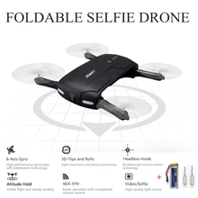 Original Jjrc H37 Elfie Selfie Drone With Camera Foldable Drones Pocket Fpv Quadcopter Wifi Rc Helicopter Mini Dron Copter Toy(China)