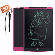 8.5 Inch Whiteboard Teaching Tablet Memo Blackboard for School Children Drawing Playing Handwriting LCD Pink Writing Board