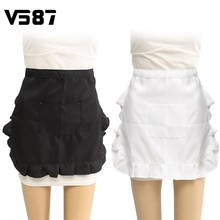 Waist Apron Half Body Aprons Waitress Waiter Restaurant Bar Kitchen Chef Household Cleaning Cooking Apron Tools