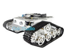 Wireless WiFi RC Tank T300 Wall-E From NodeMCU Development Kit with L293D Motor Shield diy rc toy remote control tracked model