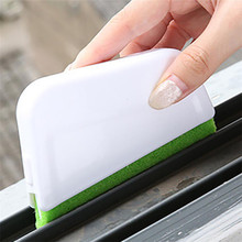 1 Set Recess Groove Cleaning Brush House work window Door Gap Dirty cleaning Scraper Brush Plastic Cleaner drop shipping