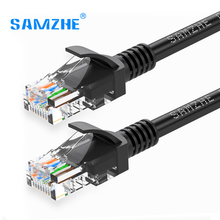 Samzhe Cat5e Ethernet Cable RJ45 Cat 5e Network Lan Cable Patch Cord 1M 2M 5M 10M 20M 30M for PC Router Laptop Cable Ethernet