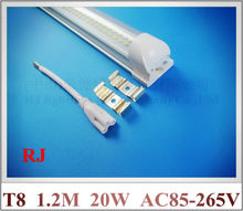 integrated LED tube lamp light 1.2M 20W SMD 3528 LED lighting tube AC85-265V SMD3528 288LED double line 32mm*35mm*1200mm CE