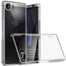 "sFor Blackberry KEYone / Mercury Case Cover 4.5"" IMAK Clear PC Plastic Back Cover Hard Case For Blackberry Priv / Venice 5.4"""