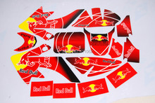 NEW MOTOCROSS 3M graphic decals sticker for honda moto dirt pit bike parts xr CRF50(China)