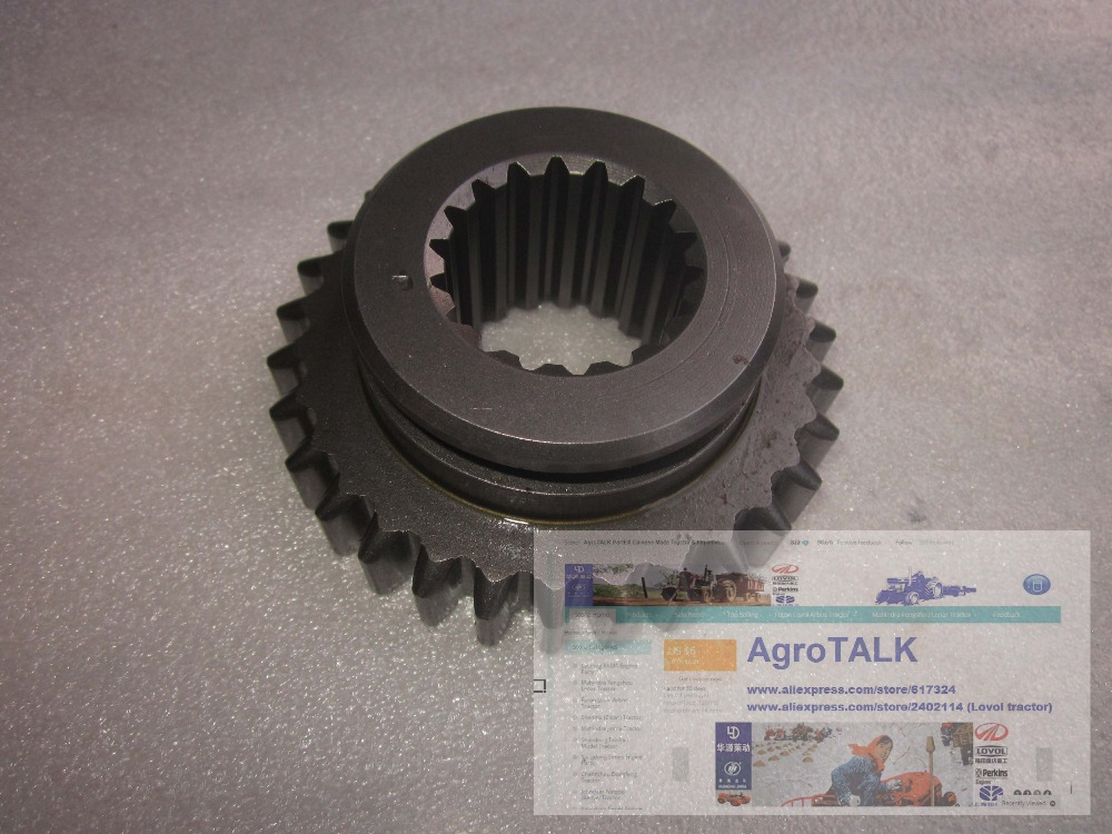 TB554.421E.1-03 , the Transfer case driven gear for Foton Lovol tractor TB404C -TB554 (e.g. model TS4A404-004C) tractor<br>