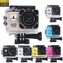 2017 New International 2Inch Mini Waterproof Camera Sports Recorder Car DV Action Camcorder 1080P HD Camera Helmet Cam Wholesale(China)