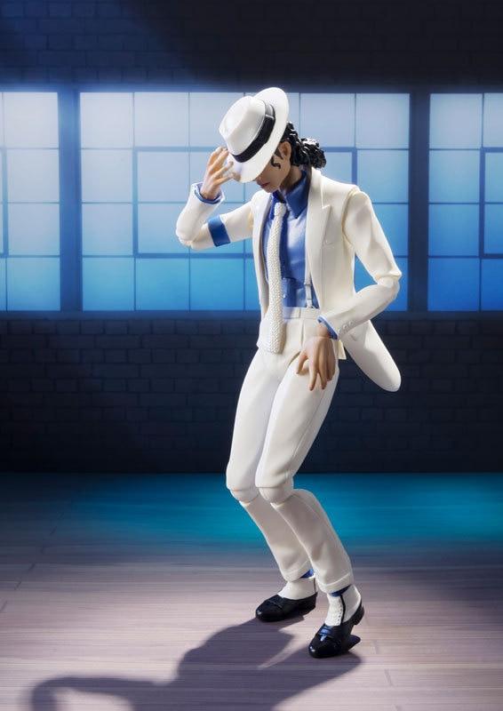 Figur Michael Jackson Smooth Criminal Moonwalk Bewegliches Modell Spielzeug 17Cm