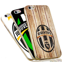 Italian Juventus Footbal Club Soft TPU Phone Case for iPhone 5S 5 SE 5C 4 4S 6 6S 7 Plus Transparent Silicon Cover