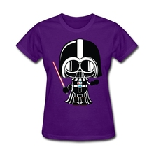 Wholesale Women Darth Vader Pregnancy Announcement Awesome T Shirts Short Sleeve 2017 New T-Shirts Young Short Sleeve Clothing