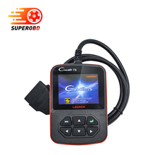 2017 Launch X431 Creader 7S OBD2 Code Reader with Oil Reset Function Creader 7 Plus Update Via Official Website Diagnostic tool(China)