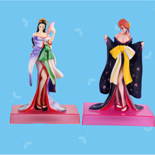 Good PVC Kabuki Kimono Costumes Nami Action Figure Anime ONE PIECE Sexy Robin Model Toy Gift Collectibles 2016 New