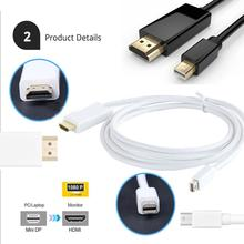 3M Display Port Mini DP to HDMI TV HDTV Data Cable Cord Adapter For Macbook Pro Air iMac /Microsoft Surface Pro
