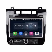 "Octa Core 2 din 8"" Android 6.0 Car Radio DVD GPS for VW Volkswagen Touareg 2010-2014 With 2GB RAM Bluetooth 32GB ROM Mirror-link(China)"