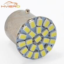 10Pcs 1157 BAY15D 1156 1206 3020 22SMD White LED Brake Turn Light Auto mobile Wedge Lamp Tail Bulb Super Bright DC 12V Car Led