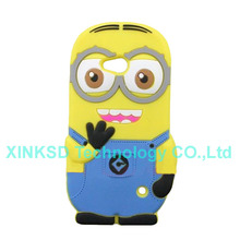Newest Fashion 3D Despicable ME 2 Minions Silicone Cover Cases For Microsoft Lumia 640 Cell Phone Back Case For Nokia Lumia 640