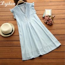 2017 New Summer Sleeveless Dress Maternity Dresses Pregnant Clothes For Pregnant Women Denim Color Dress For Pregnant Gestante