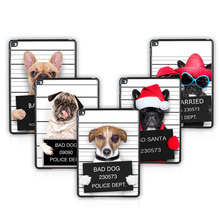 Batianda (TM) For Apple iPad 2 3 4 Tablet Case Cover bad dog Plastic Hard Case Cover for ipad 234 With Free Gift