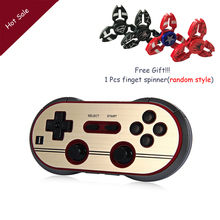 8Bitdo FC30 Pro Finger Spinner Wireless Bluetooth Gamepad Game Controller for iOS Android Gamepad PC Mac Linux Retro Design