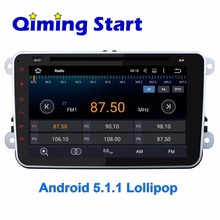 Quad Core Android 5.1.1 Car GPS Navigation for VW Magotan 2 Din 8 Inch 1024*600 HD Radio Head Unit with Bluetooth Mirror link