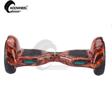 EU Warehouse Wholesale China Koowheel 10 inch Big Tire Two Wheel Off  Road Hoverboard Hands Free Steering-Wheel Scooter
