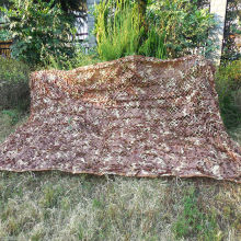1x2M Camping Hunting Desert Camouflage Net Outdoor Travel CS Desert Military Camouflage Net Cloth Gardon Sun Shelter