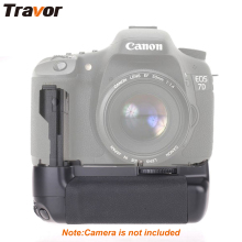 Travor Multi power vertical battery grip for Canon 7D DSLR Camera work with LP-E6 battery replacement BG-E7