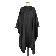 Pro 1Pc Salon Hair Cut Hairdressing Cape Barbers Black Waterproof Hairdresser Gown Wrap Cloth Hairstyling Tools Hot(China)