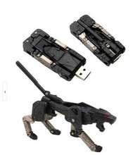 real capacity USB Flash Drive Guaranteed USB Flash Drive  transformer machine dog  2GB 8GB 16GB USB flash drive,S79
