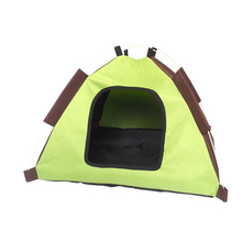 Hot sale Folding kennel Oxford Cloth waterproof Foldable Dogs Tent House Pets Fashion Outdoor Camping Home Travel House FMYK060