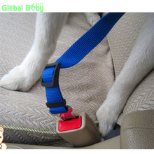 Free Shipping Brand 100% High Quality Soft New Styles Dog Pet Car Travel Safe Seat Belt for All Cars(China)