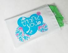 Self adhesive thank you plastic bag plastic mailing shipping envelope Plastic Mailers Bag, Poly Posting Courier Envelope(China)