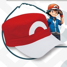 2016 New Fashion Anime  GO XYZ ASH KETCHUM Trainer Costume Cosplay Hat Cap PoP High Quality