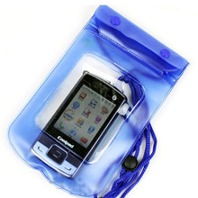 2017 hot sales Blue 1pc Waterproof Underwater Pouch Dry Bag Pack Case Cover For Cell Phone Hot