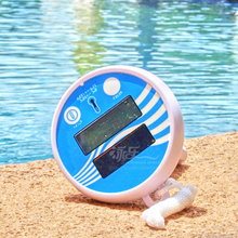Piscina Intex Aqua swimming pool cleaning tools lcd thermometer Free Shipping(China)