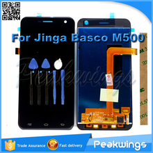 "5"" 1280*720 Touch Screen For Jinga Basco M500 3G 4G LCD Display Screen Replacement"