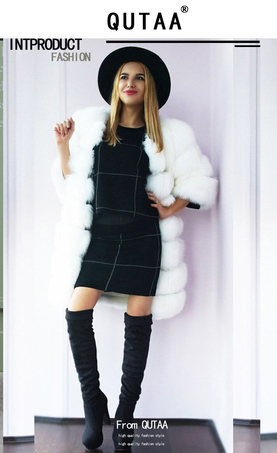 New Women's Boots, Sexy Fashion Over the Knee Boots, Sexy Thin Square Heel, Boot Platform Woman Shoes 10