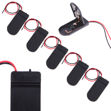 High Quality DIY Electrical Accessories 5Pcs 6V Battery Holder 2x 2032 Button Cell Case ON/OFF Switch 6 Volt Connectors AA