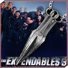 Detonation model!!!!!Expendables stallone dagger necklace Swagger off evil sword pendant Man necklace