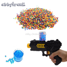 3000 Pcs Color Soft Crystal Bullet Water Gun Paintball Bullet Orbeez Gun Toy Arma Arme Bibulous Air Pisol Toys for Children