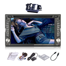 Sub 2 din Head Unit Universal RDS Electronics Radio Receiver Logo System Touchscreen GPS Car DVD Stereo Autoradio Map(China)