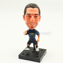 Soccerwe+ Soccer Player Dolls 22# MKHITARYAN (MU +Blue +2017) 2.5