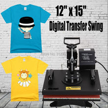 (Ship from Germany) 1250W Advanced Heat Transfer Machine Sublimation Heat Press Machine for T-Shirt Fast Shipping